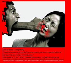 Violencia con palabras