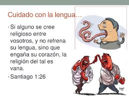 ¡Cuidado con la lengua! Por SugelMichelén