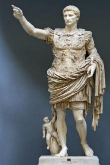 Augusto César - Emperador bajo cuyo reinado nació el Mesías