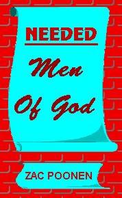 Necesitado  Hombre de Dios libro de ZacPoonen