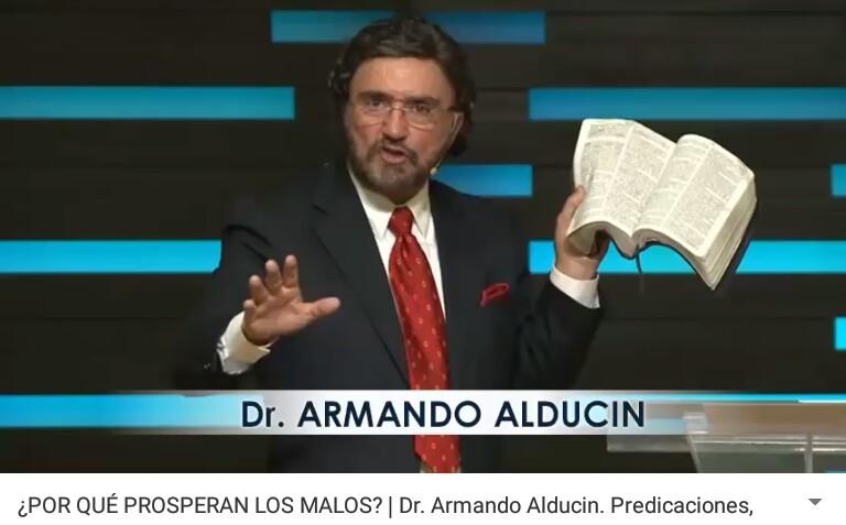 ¿POR QUÉ PROSPERAN LOS MALOS? Por Dr. ArmandoAlducin