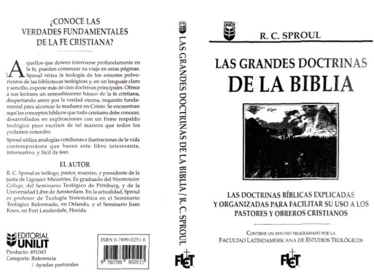 Las Doctrinas de la Biblia por R.C. Sproul… ¡¡¡Libro de lectura en línea desde esteSitio!!!