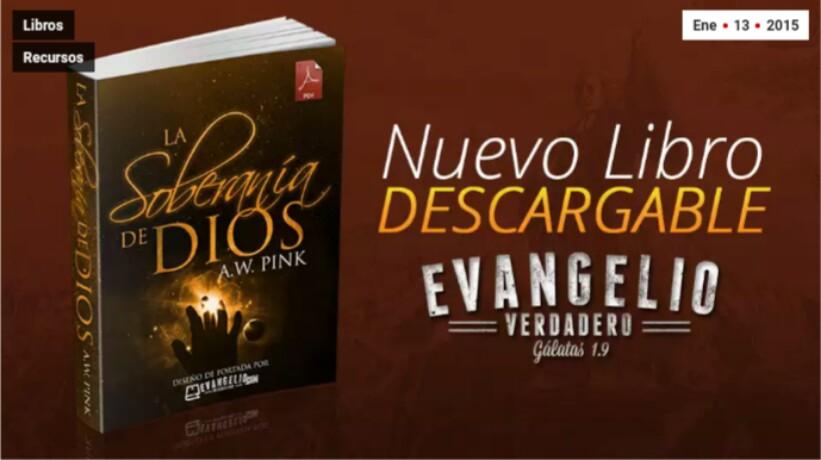 PDF | La Soberanía de Dios | A.W.Pink