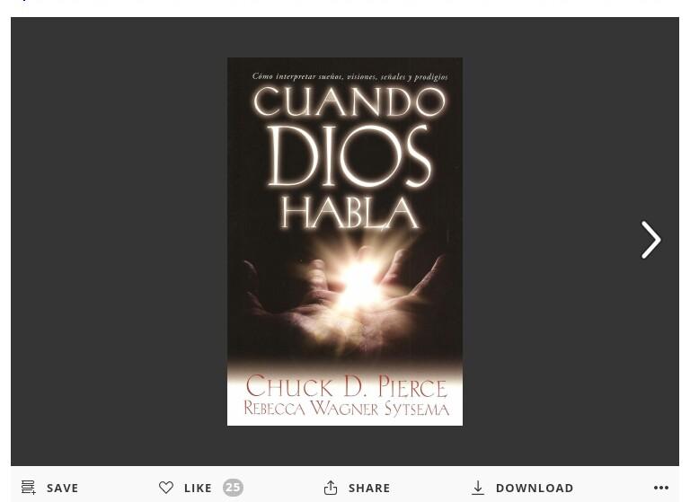Cuando Dios Habla por Chuck D. Pierce… Libro para leer gratis enlínea!!!!