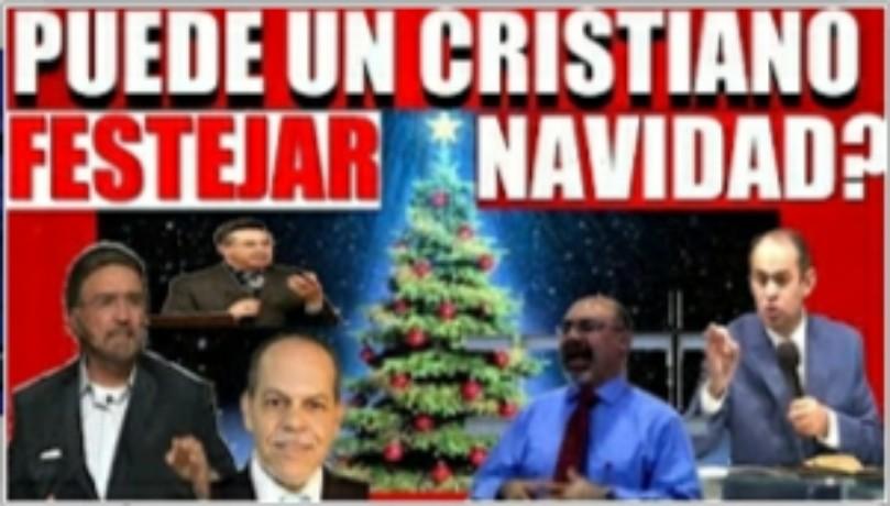 Puede un cristiano festejar la Navidad – variosponentes