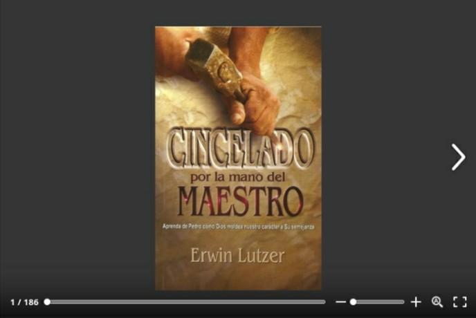 Libro para lectura en línea… CINCELADO por la Mano del MAESTRO por EdwinLutzer