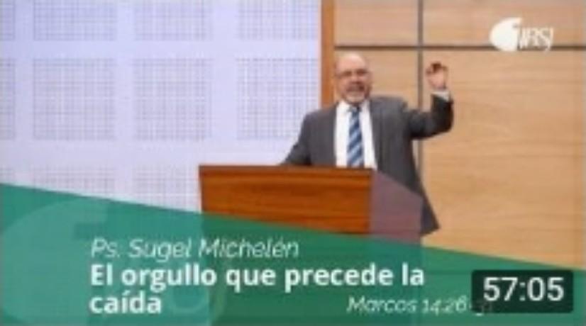 El orgullo que precede la caída por Ps. SugelMichelen