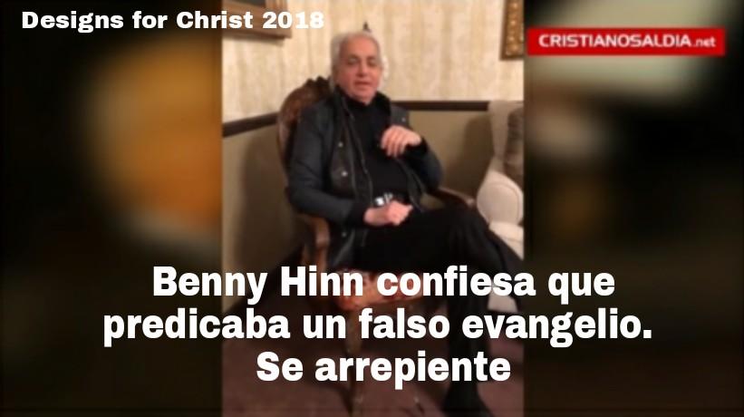 Benny Hinn confiesa que predicaba un falso evangelio. Searrepiente