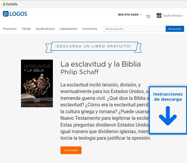 Biblioteca Logos nos bendice con nuevo libro … completamentegratis!!!!