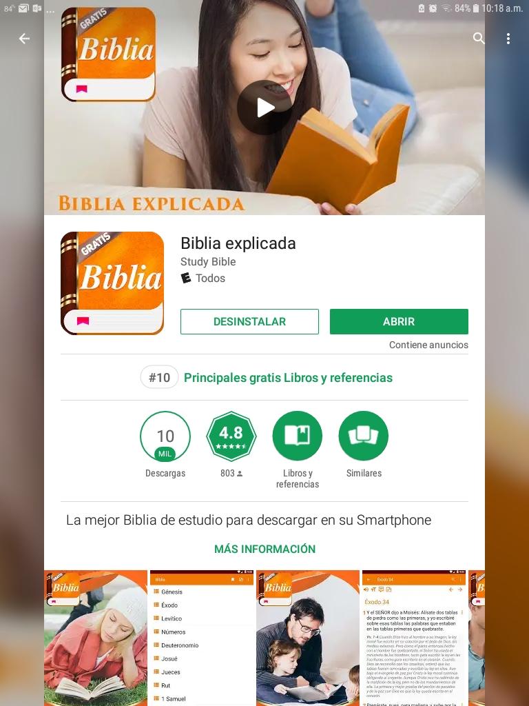 Biblia Explicada App para celulares y tabletas!!! Con comentario Matthew Henry completamente gratis!!!!!!!!!!!