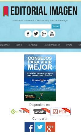 CONSEJOS PARA VIVIR MEJOR, libro gratuito por EDITORIALIMAGEN