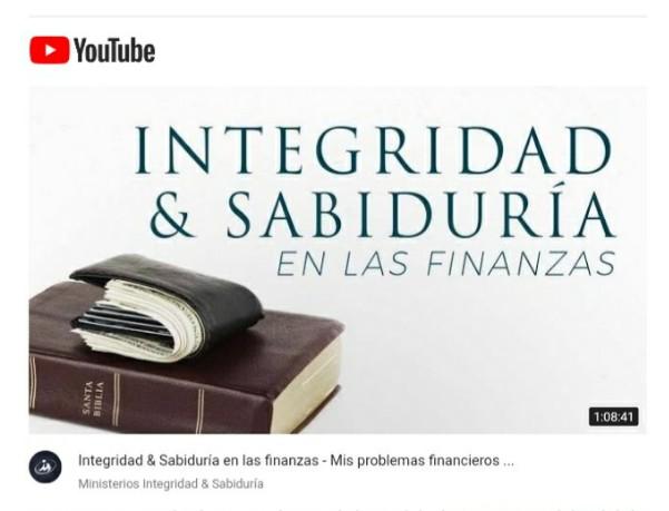 Integridad & Sabiduría en las finanzas – Mis problemas financieros por Ps. HéctorSalcedo