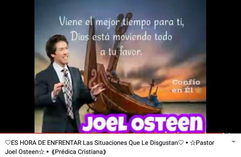 Es Hora de Enfrentar las Situaciones que le Disgustan por Ps. JoelOsteen